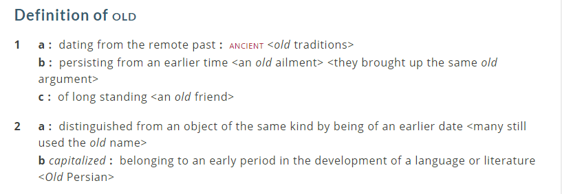 definition-of-old