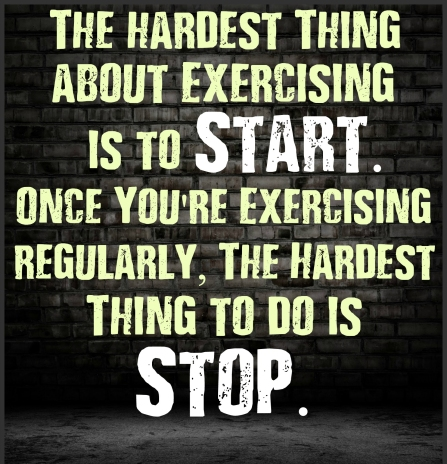 fitness-motivation-the-hardest-thing-about-exercising-is-to-start